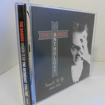 The Damned  Smash It Up The Anthology 1976-1987 2CD scarce edition EX+ Discs