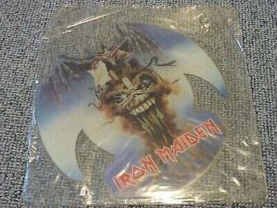 "IRON MAIDEN - The Evil That Men Do - Rare UK 7"" Shaped Picture Disc - EMP64 - EX"
