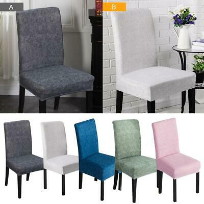Stretch Dining Chair Cover Removable Slipcover Washable Banquet Event Protector