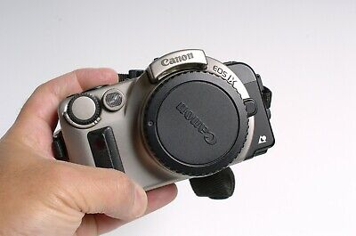 CANON EOS IX APS film format SLR camera Futuristic Design! Tested works!