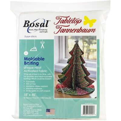 "Bosal Moldable Batting 18""x45""-tabletop Tannenbaum"
