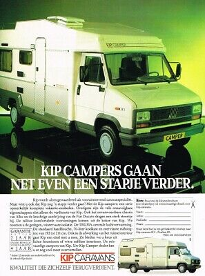 1988 Kip Campers Fiat Ducato (NL, 1pg.) Advertisement
