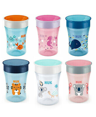 NUK Magic Cup 8 months+ Available Multi Color