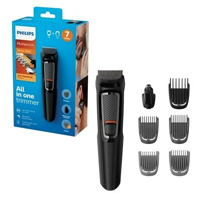 Philips Series 3000 Multi Rechargeable Grooming Kit Beard Stubble & Hair Trimmer