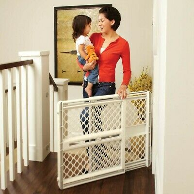 """North States SUPERGATE III Classic Baby and Child Safety Pet Door Gate, 26"""" Tall"""