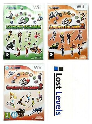 Wii - Sports Island - Choose title - Same Day Dispatched - VGC - Nintendo