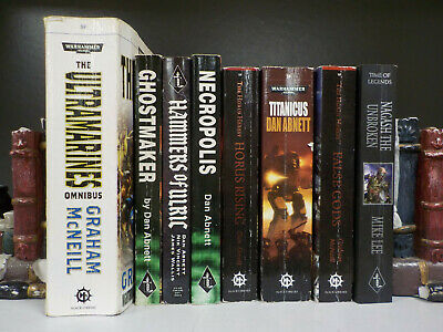 Warhammer 40,000 (Black Library) - 8 Books Collection! (ID:5033)