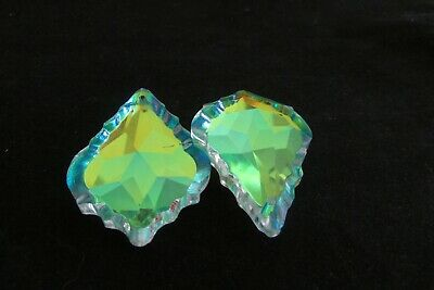 """10-  2 """" Ab Aaa Cut Lead  Crystals Prism Chandelier Parts"""