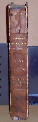 Five volumes: AMERICAN STATE PAPERS; Foreign Relations, Commerce, Naval Affairs
