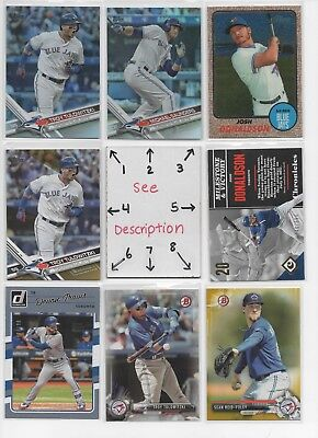 Toronto Blue Jays #2 - AUTOS - ROOKIES - JERSEYS - SERIAL #'d - SEE ALL R CARDS