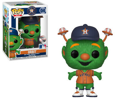 Orbit (Houston Astros) MLB Mascots Funko Pop!
