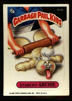 1986 Topps Garbage Pail Kids - # 197B  STARCHY ARCHIE