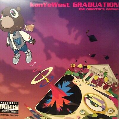 "KANYE WEST "" GRADUATION "" *** NEW 3 x LP THE COLLECTOR'S EDITION *** 21 TRACKS"