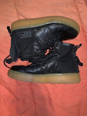 81ae841e3f NIKE SF AF 1 Mid Mens Shoes 'Black Gum Air Force 1's SIZE 7 youth ...
