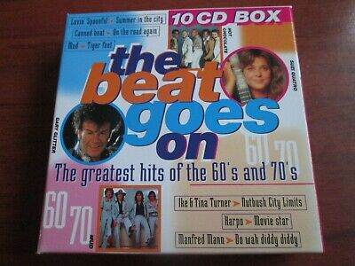 The Beat Goes On (The Greatest Hits Of The 60's And 70's) [10 CD SET] NEW SEALED