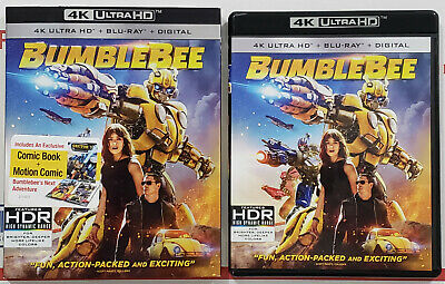BUMBLBEE (2018) 4K Ultra HD Blu-ray Disc Only w/ Slipcover