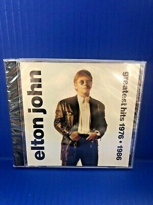 John, Elton : Elton John - Greatest Hits 1976-1986 NEW sealed 1992 CD