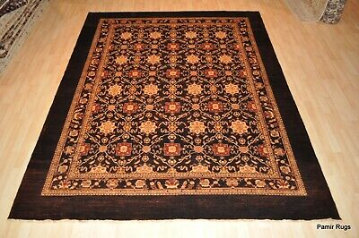 ON SALE 8' X 10' ROOM SIZE Top quality handmade Persian design Chocolate brown