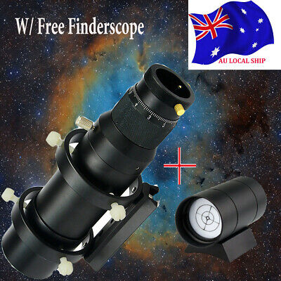 50mm CCD Imaging Guide Scope Finderscope w/ Finderscope For Astro Telescope AU