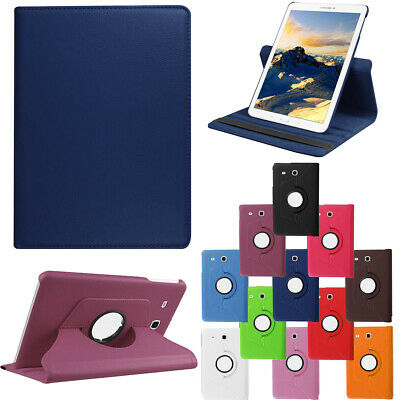 For Samsung Tab A T110 T280 T350 T380 T580 T590  360 Rotating Leather Flip Case