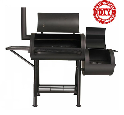 BBQ Grill Smoker Portable Camping Barbecue Cooker Outdoor Cooking - Plans DIY