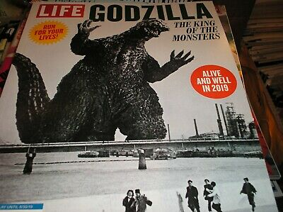 LIFE  - GODZILLA  the King of the MONSTERS . magazine  2019  alive and well  L-5