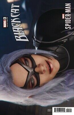 Black Cat #1 1:10 Game Variant Marvel Meow Nao Fuji 060519