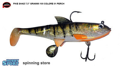MOLIX PIKE SHAD 5,5/'/' col PS 06 RAINBOW TROUT  GR 60 PESCA SPINNING LUCCIO