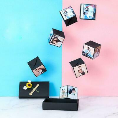 DIY Surprise Explosion Box For Memory Scrapbook Photo Album Anniversary Gifts AU