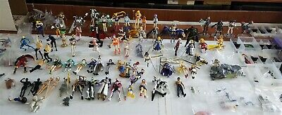 Large Lot of 85+ FIGMA Figures + Acc. Anime Video Games Sailor Moon FSN FGO Etc.