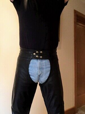 Men's Leather Chaps Gay Interest