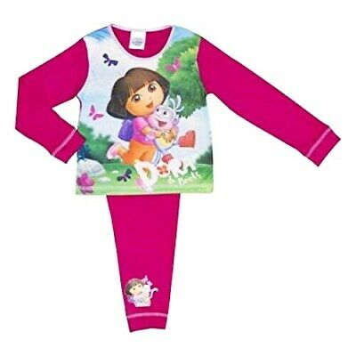Girls/Toddlers DORA THE EXPLORER  Pyjamas Ages  18-24mths   2-3  3-4  4-5 years