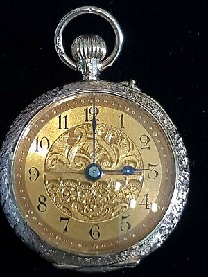 Vintage pocket watch working 12ct gold!!!