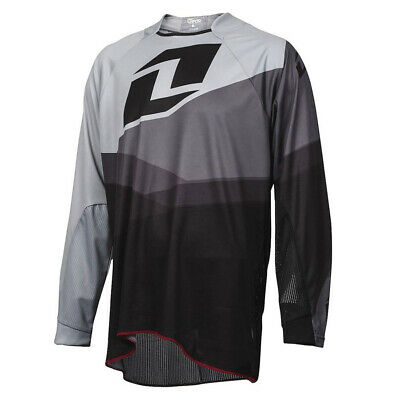 One Industries Vapor Shifter Grey / Black Motocross Mx Mtb Bike Cycle Jersey