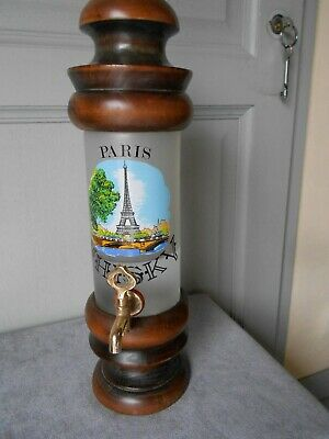French Vintage Glass Alcohol ABSINTHE FOUNTAIN- EIFFEL TOWER-