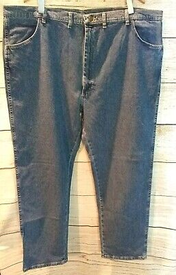 89f1f68bf5b Men's Wrangler® Hero™ Stretch Jeans 46x30 Medium Wash Blue Denim NWT ~ AV9