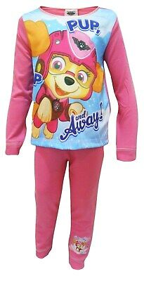 Girls Pink Paw Patrol SKYE Long Leg Pyjama Set: Pink Ages  2-3  &  3-4 years