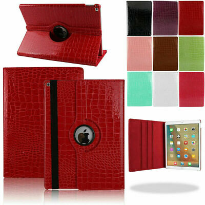 360 Rotating Stand PU Leather Case For 2018 New iPad 6th Generation 9.7 Pro 10.5