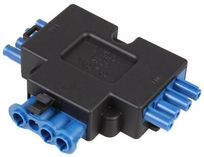 250V, 20A Fast Fit 4-Pin 1 In 2 Out Splitter - FLOW
