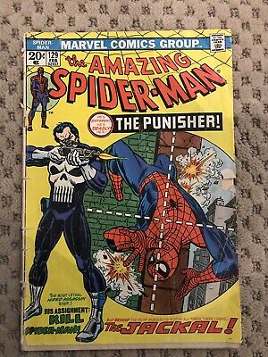 Amazing Spider-Man #129 Vol 1 Low Grade 1st App of the Punisher