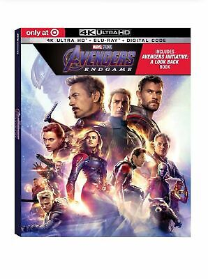 Marvel's AVENGERS : ENDGAME Target exclusive 40 page gallery / DIGIBOOK PRESALE