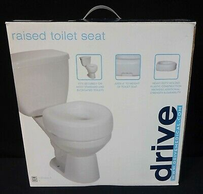 Enjoyable Drive Raised Toilet Seat W Arms Fits Elongated Toilets Uwap Interior Chair Design Uwaporg