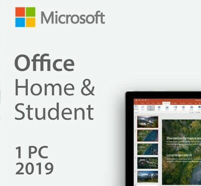 MS Microsoft Office Home and Student 2019/ Online Aktivierung / Original Key