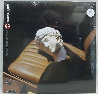 """NEW & Sealed Bad Religion """"Age Of Unreason"""" LP 180gm Clear Vinyl Record (7636-1)"""