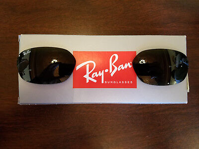 f7c74a3d4ba1 Ray-Ban Sunglasses BRAND NEW Replacement Lenses RB2016 59mm W2578 G-15  Daddy-