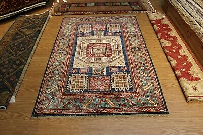 GREAT DEAL ON FINE QUALITY HANDMADE HAND KNOTTED PERSIAN kazak vegetable dyed