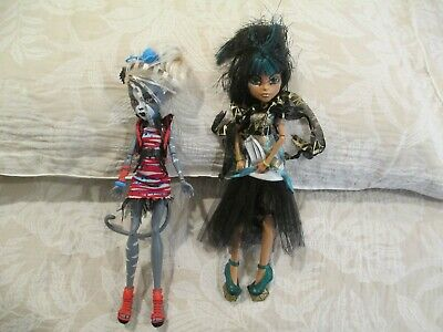 Lot 2.  2 X Monster High Dolls As Per Photos. Amazing Costumes & Detail