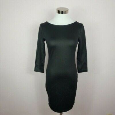 Forever 21 Bodycon Dress with Exposed Back Zipper Size Small