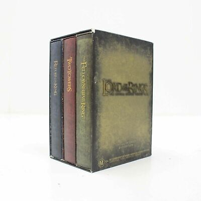 The Lord of the Rings Extended DVD Trilogy Box Set (12 Discs) PAL Region 4 #316