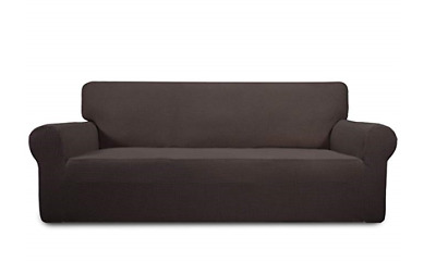 Stretch Sofa Slipcover Sofa Cover Furniture Protector Couch Soft with Elastic Bo
